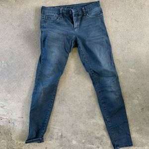 KUT Black Washed Skinny Denim